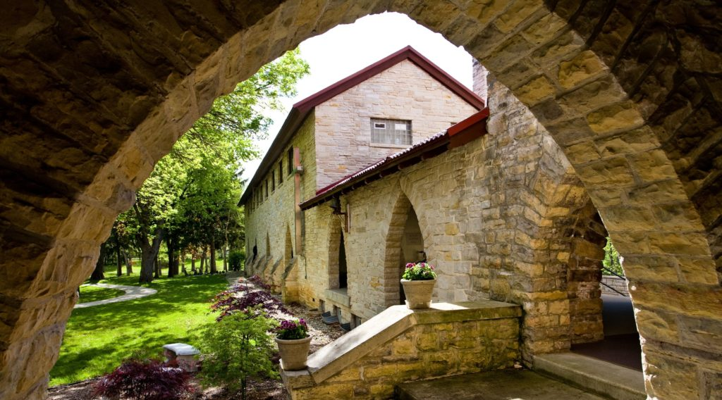 The outside of a building at Nashotah House.