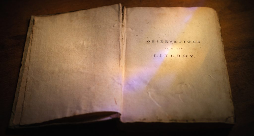 Observations Upon the Liturgy ~ 1789