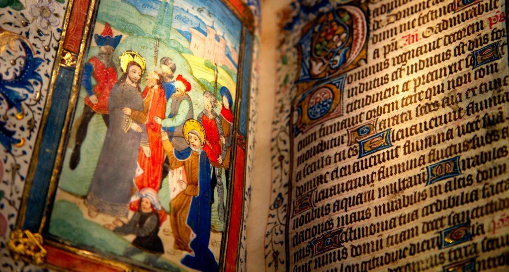 Sarum Book of Hours ~ circa 1400.