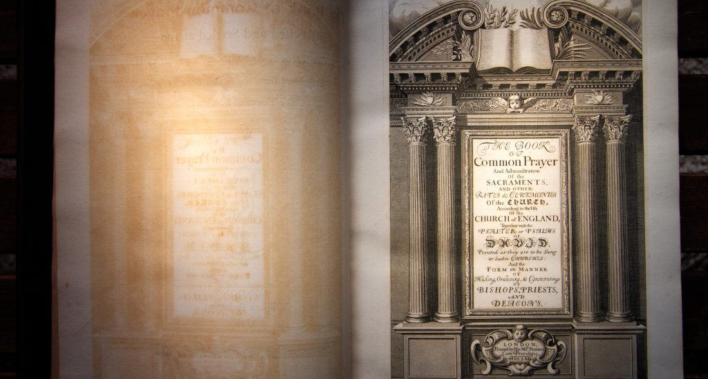 Book of Common Prayer 1662 ~ Large Format