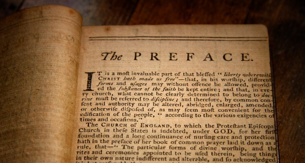 Proposed Book of Common Prayer (American) ~ 1786