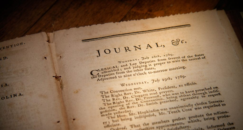 Journals of the American Convention. (1785-86), 1789