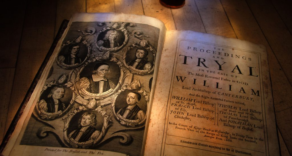 The Proceedings of the Tryal of the Seven Bishops. 1689.