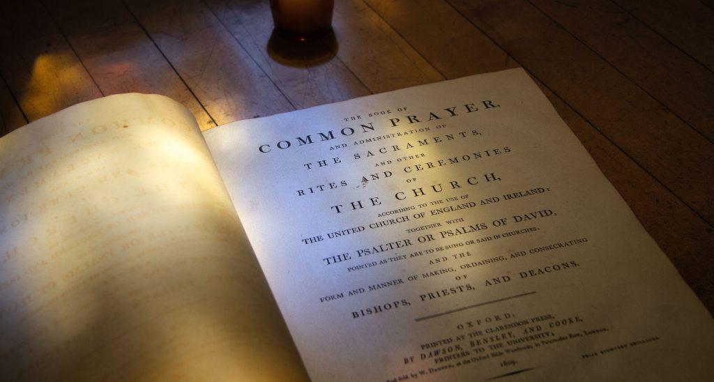 Book of Common Prayer. Oxford, 1809.